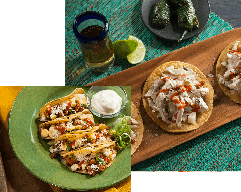 Organic Corn Taco Sliders