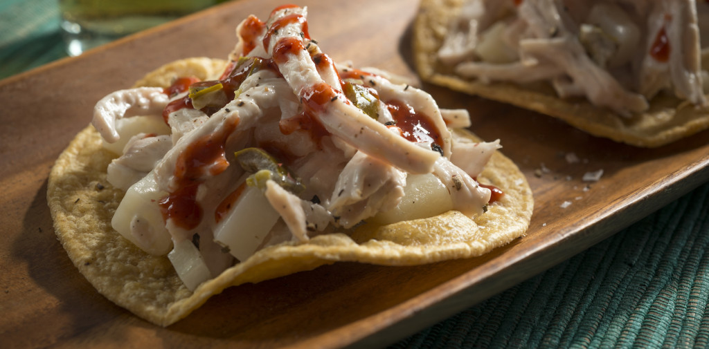 Chicken Salad Tostada