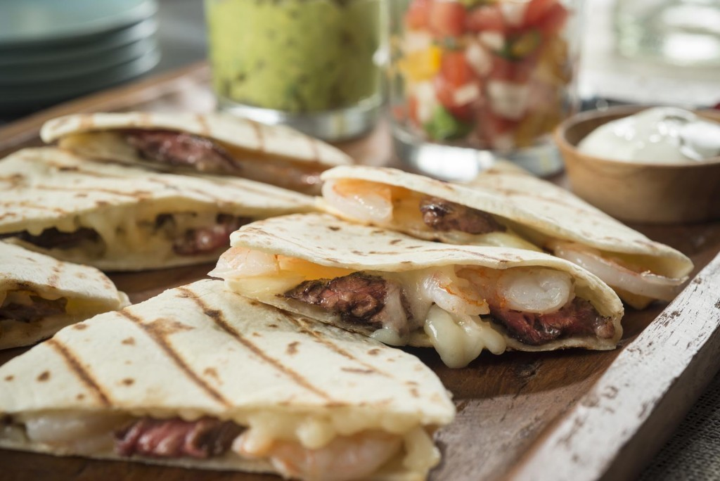 Surf & Turf Quesadillas