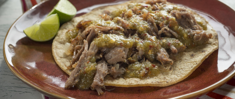 Pork Tacos with Tomatillo