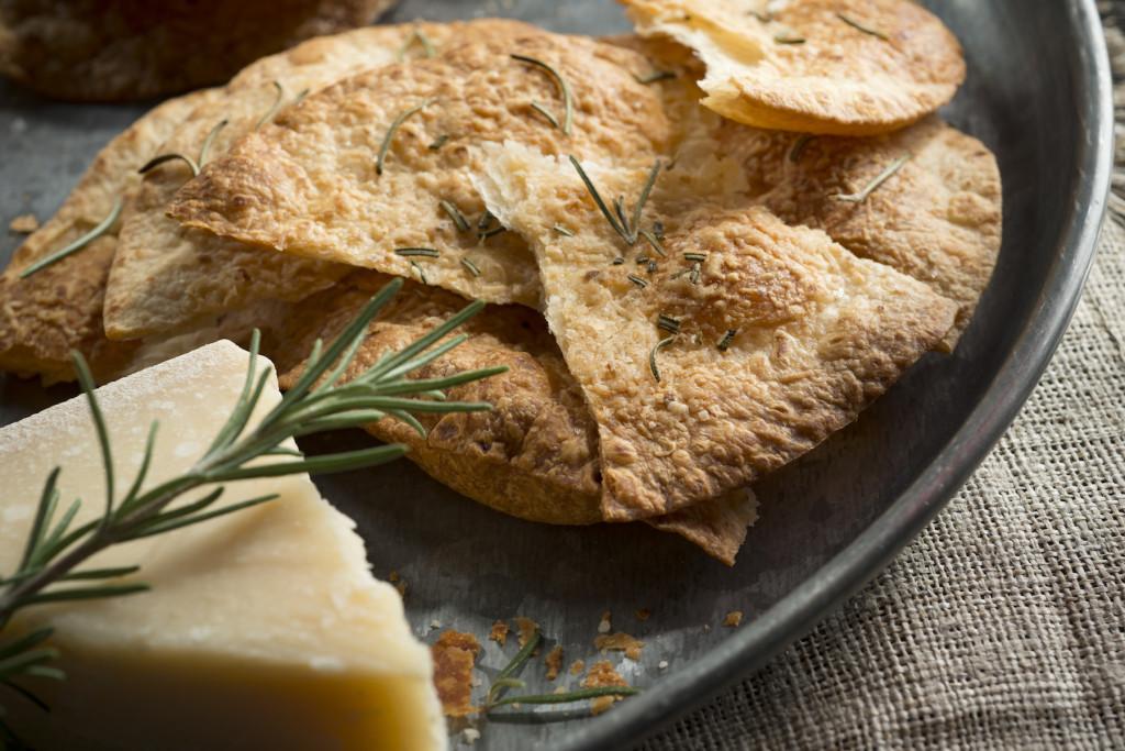 Rustic Tortilla Crackers
