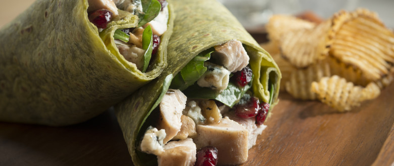 Spinach Chicken Wrap
