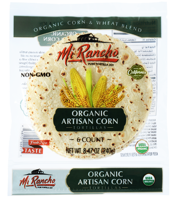 Organic Artisan Corn