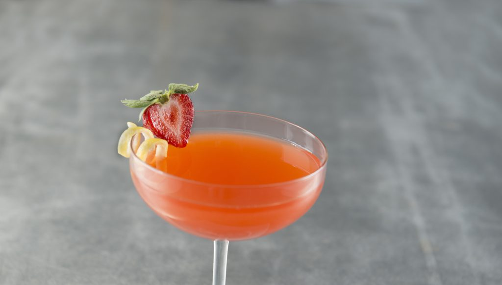 strawberry tequila drink