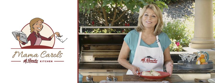 Mama Carol's Mi Rancho Kitchen - Grilled Chicken Caesar Wraps