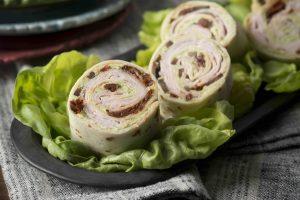 Pesto Turkey Pinwheel