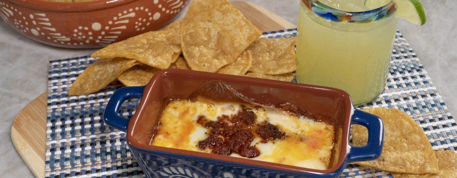 Queso Fundido with Margarita