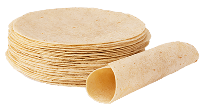 Non-GMO Cornflowers Tortillas