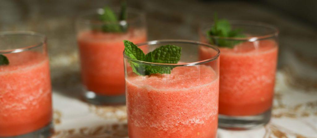Watermelon Mint Mojito Mocktai