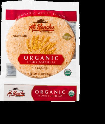 Organic Flour Tortillas (Small)