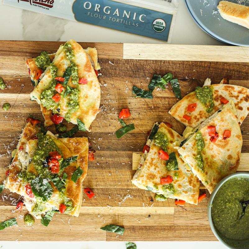 Organic Flour Tortillas (Large)